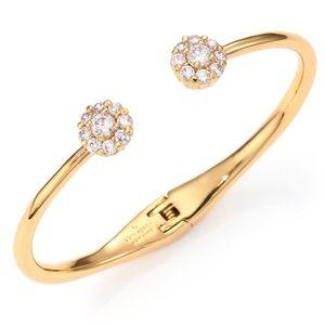 Kate Spade Gold Lady Marmalade Cuff Bracelet